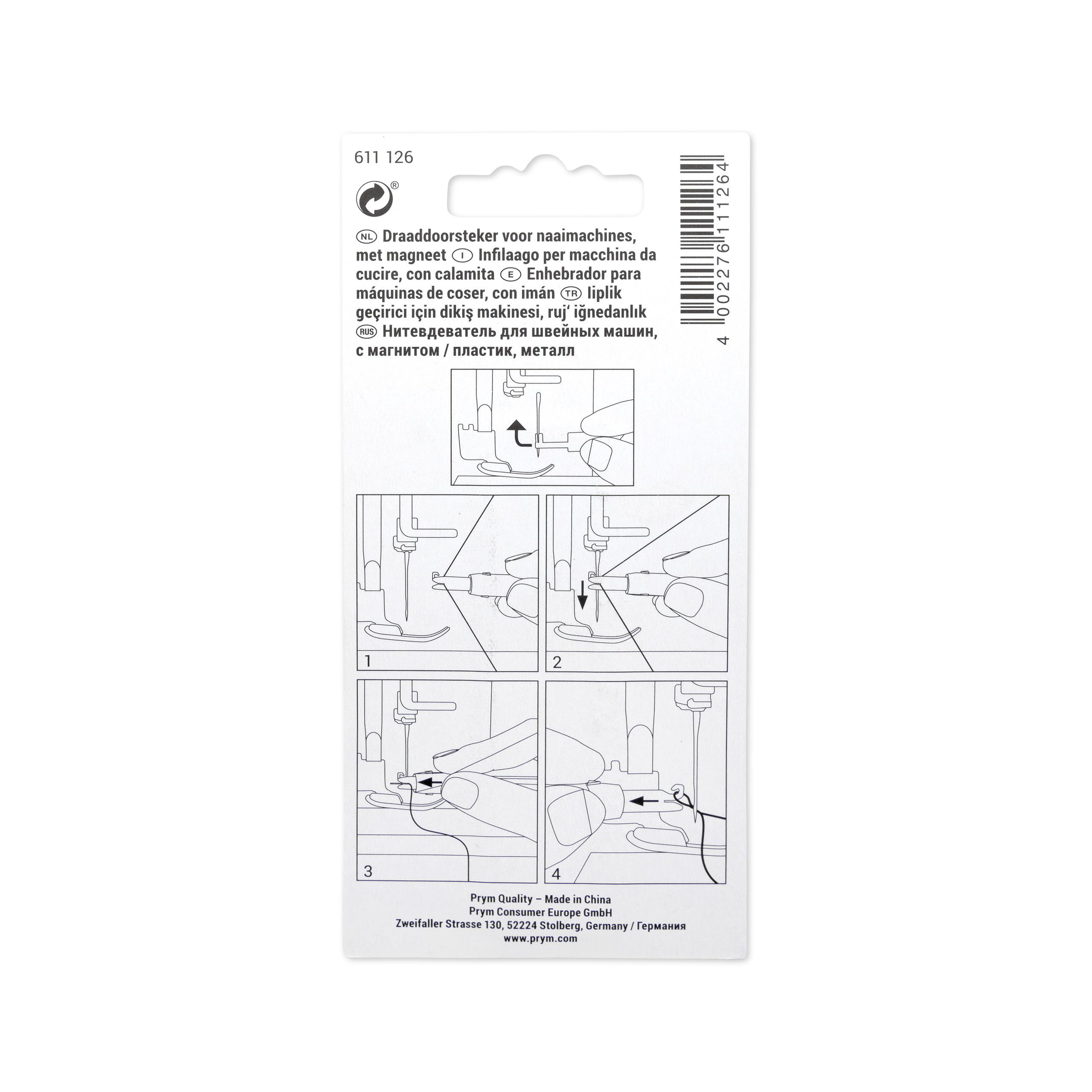 Einfädler für Nähmaschinen (Magnet), Prym - Art. 611126