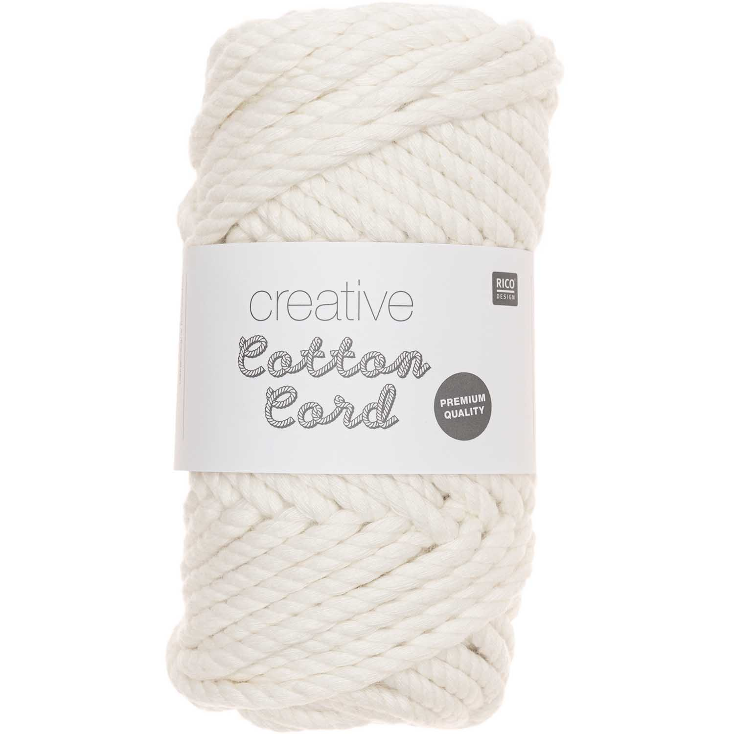 CREATIVE COTTON CORD 130G 25M, creme