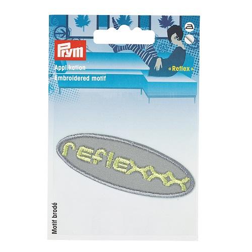 Applikation reflex, selbstklebend und aufbügelbar, Prym. Art. 925504