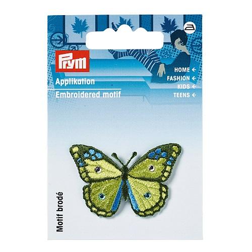 Applikation Schmetterling, kiwi.  Art. 926225