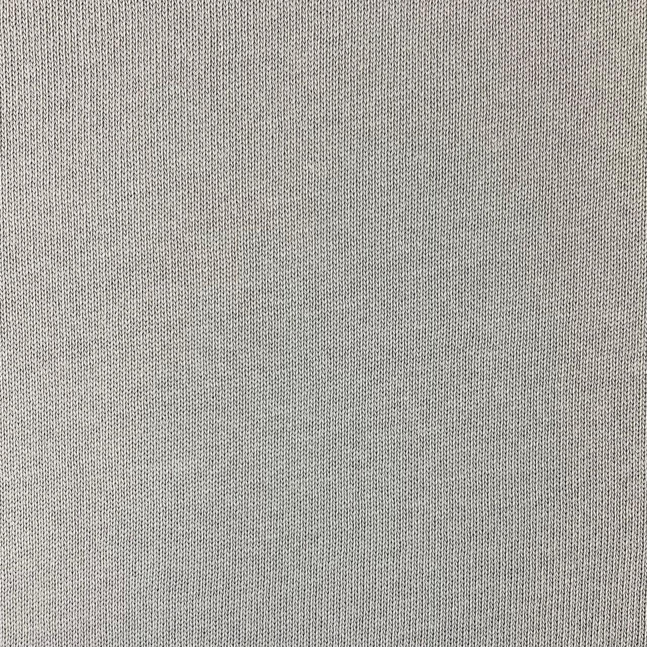 Feiner Strickstoff, Baumwolle silbergrau. Art. 4199-62