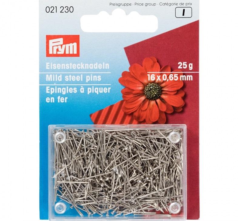 Eisenstecknadeln 16 mm. Prym Art. 021230