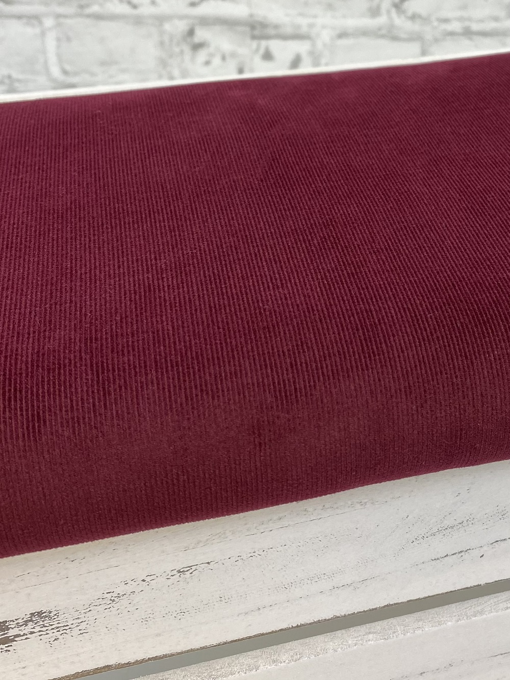 Feincord gewaschen, dunkel bordeaux. Art. 4809/819