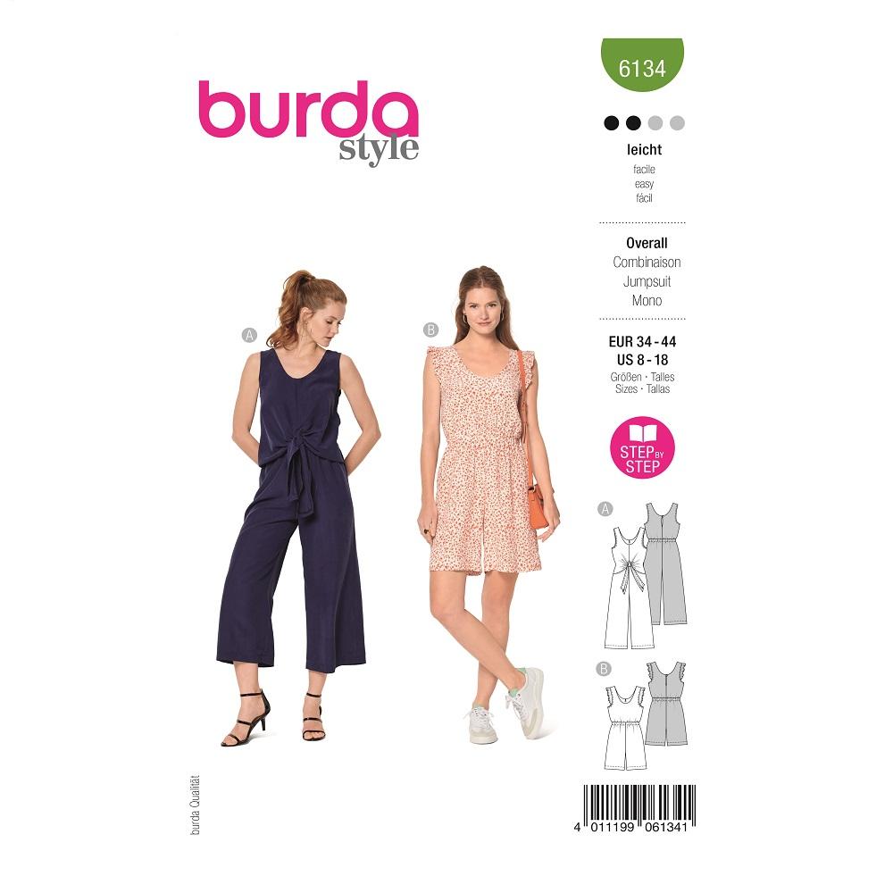 Overalls. Burda #6134