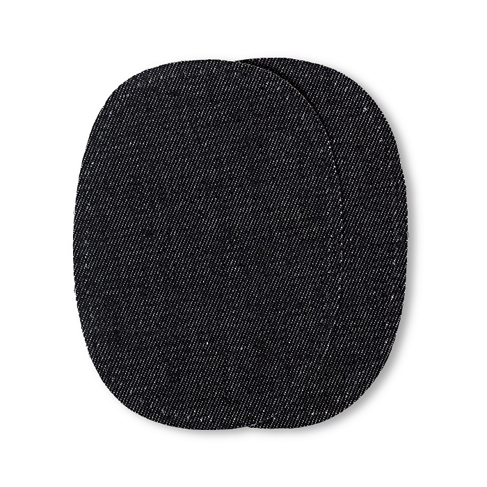 Patches Jeans, aufbügelbar, 10 x 14cm, schwarz. Art. 929302