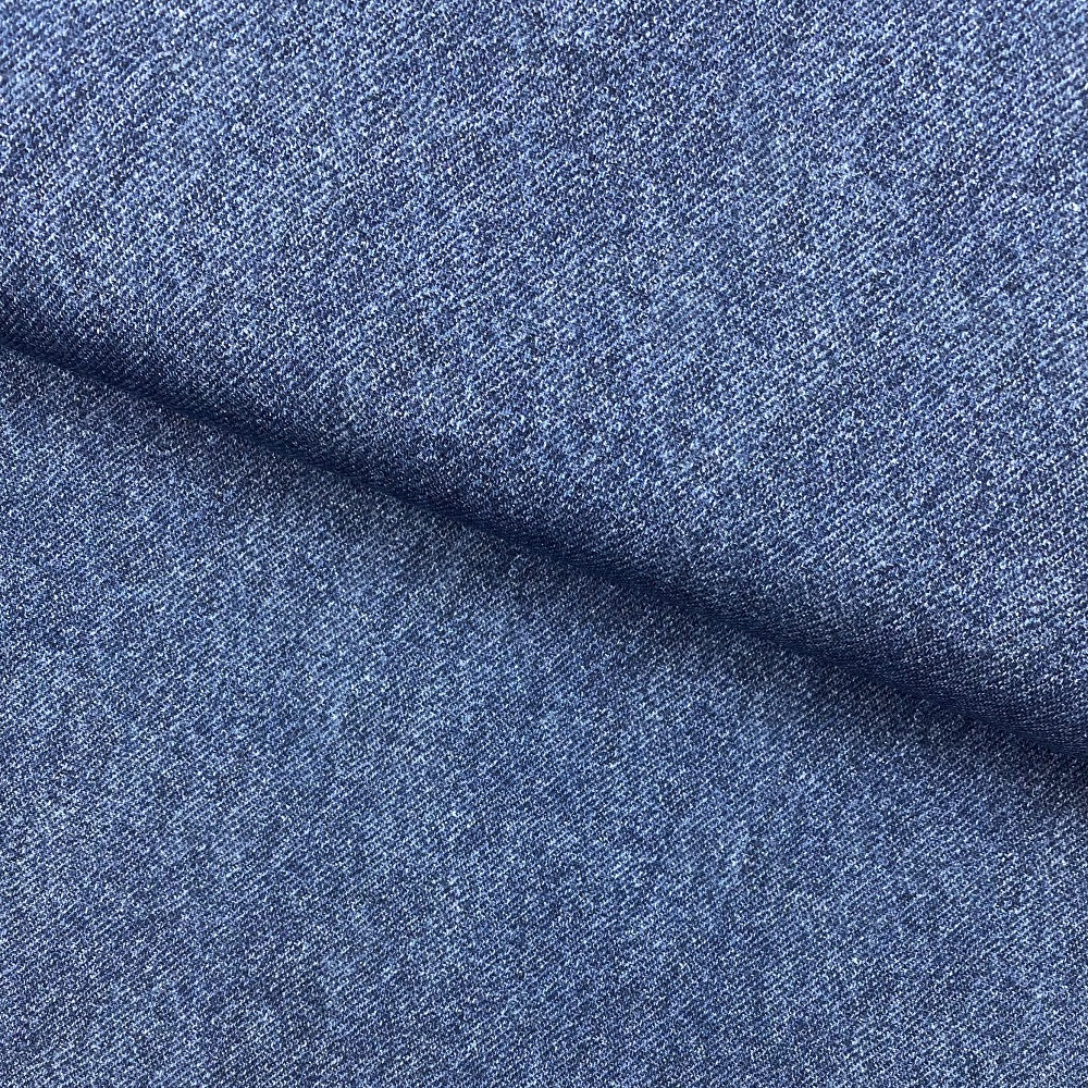 French Terry, Jeans Optik, dunkel jeansdlau. Art. 4692/7