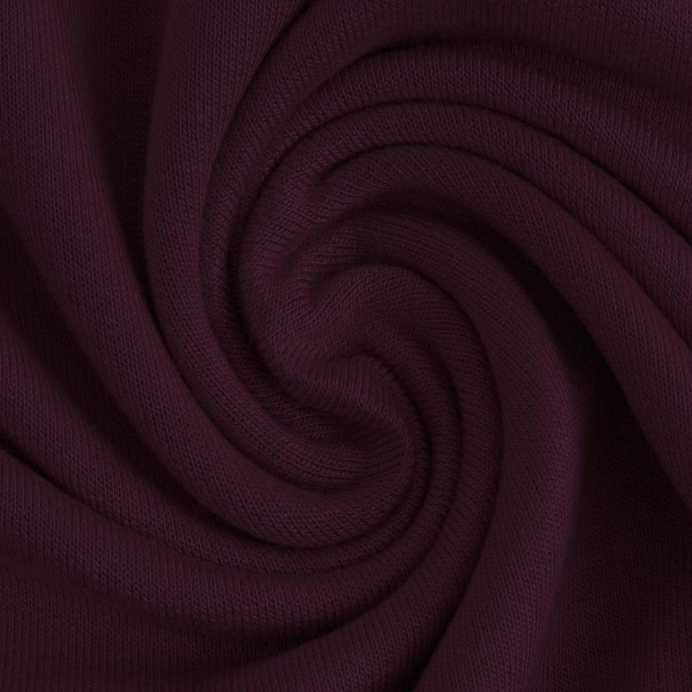 French Terry Modal, uni, violett. Art. 4545/1345