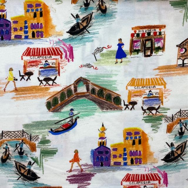 Viskosenjersey, Venedig von TopTex.  Art. 4642-01