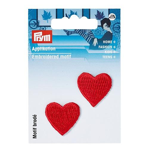 Applikation Herzen, rot.  Art. 925220