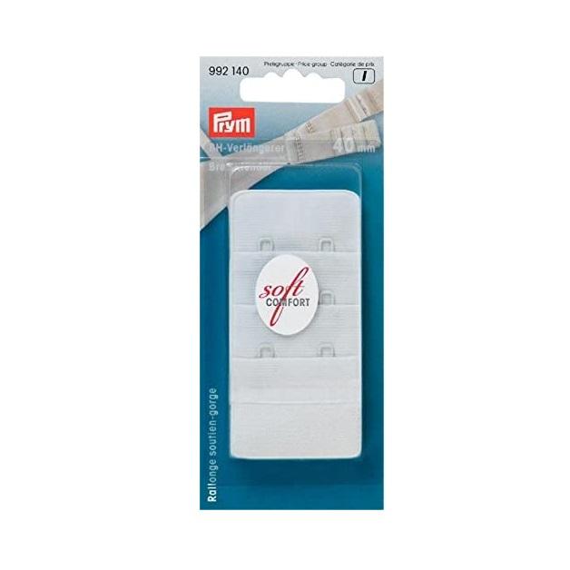 BH-Verlängerer, 3x2 Haken, 40mm, weiß.  Art. 992140