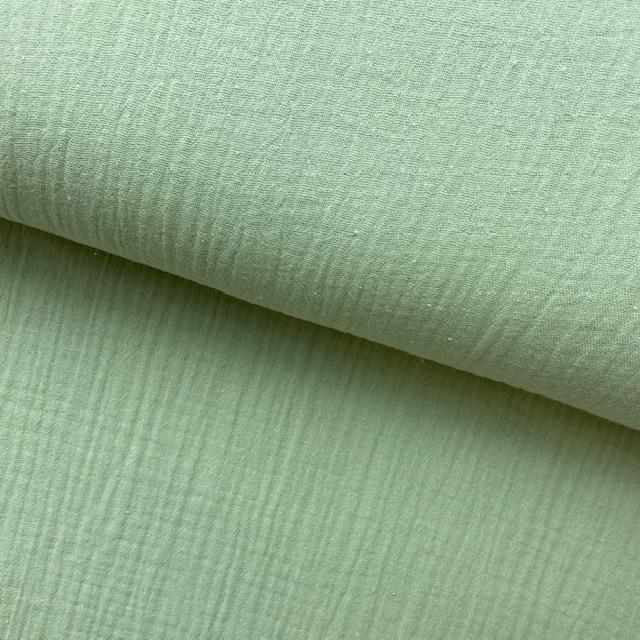 Fibre Mood #Lou, Musselin, Sabtitle green. Art. FM795100
