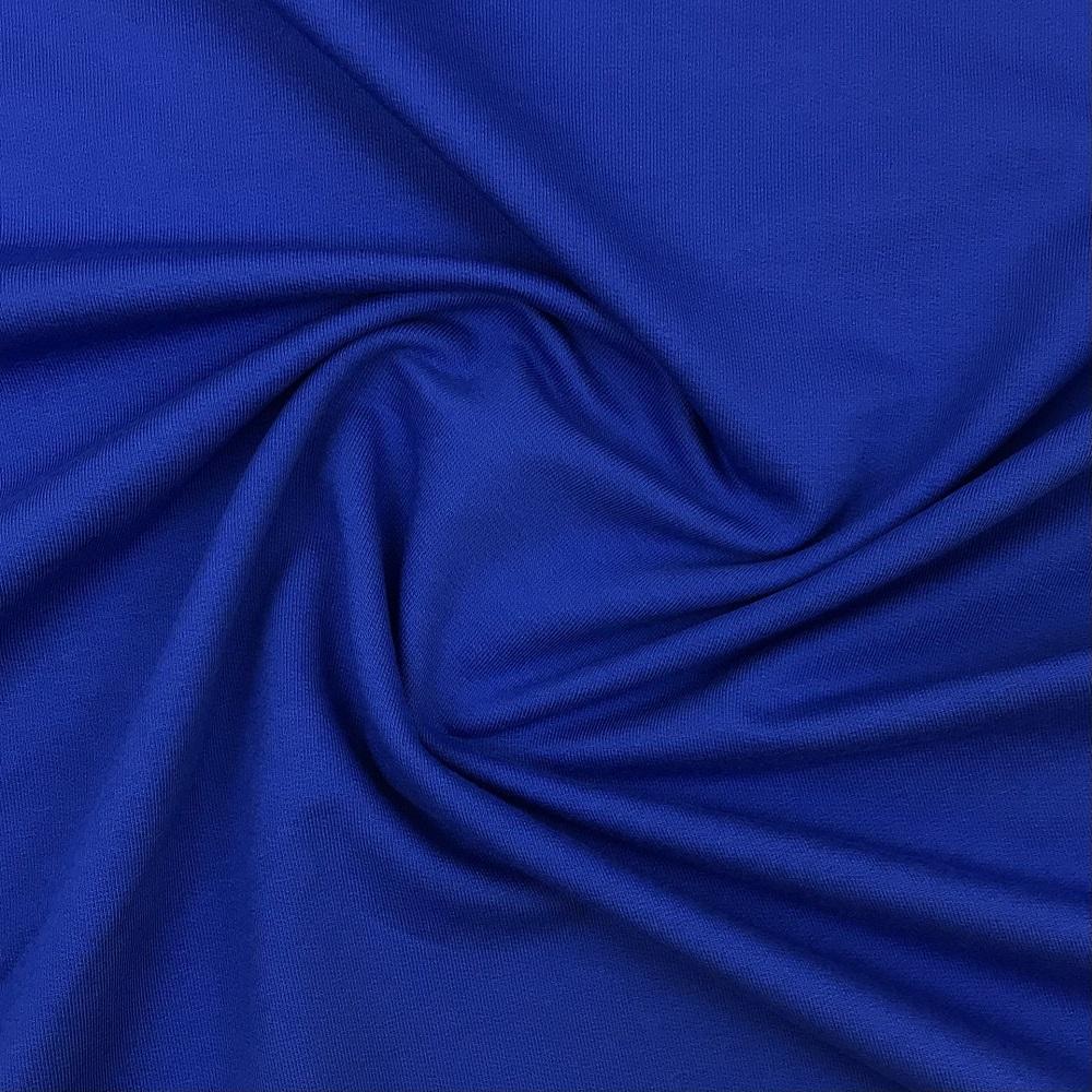 French Terry/Sommersweat, unangeraut, kobaltblau, uni. Art. KC SW31713/5027