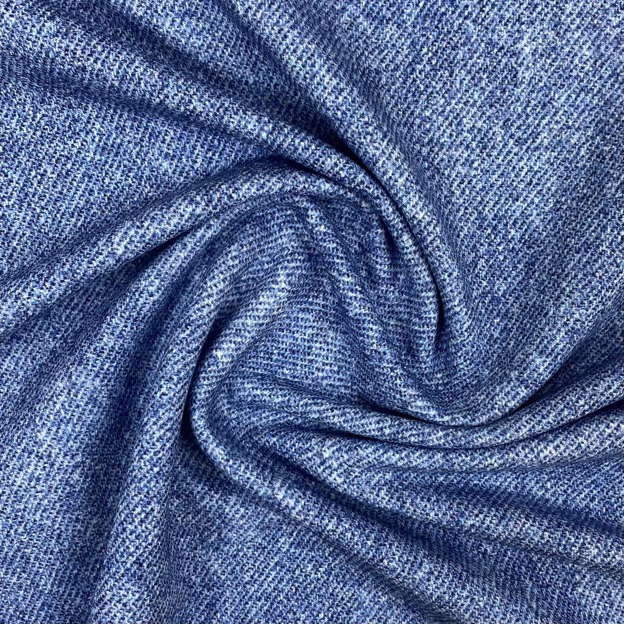 French Terry, Jeans Optik, helleres jeansdlau. Art. 4692/6