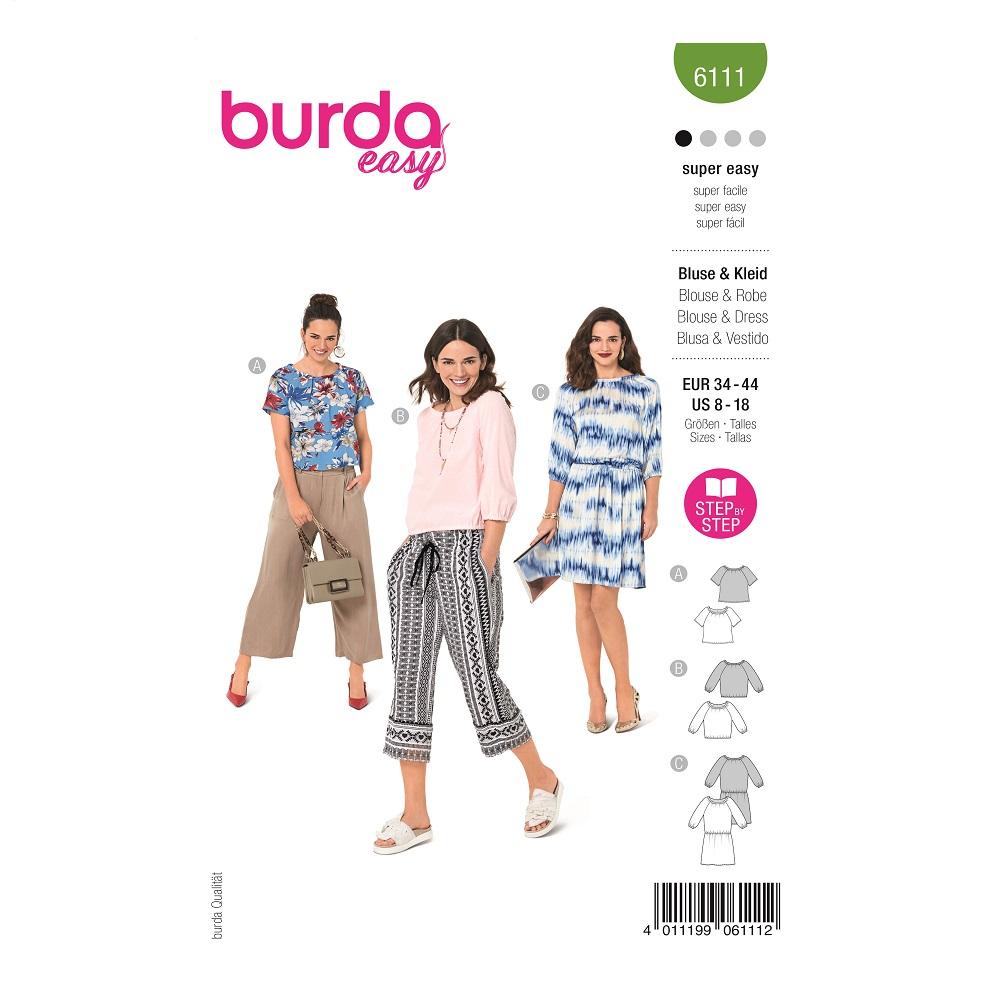 Blusen und Kleid #6111