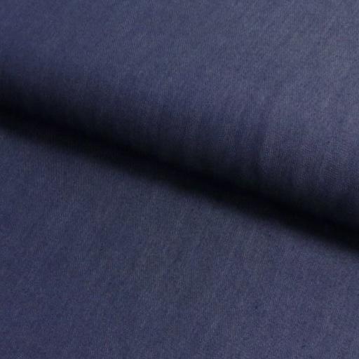 Viskose Stoff, Jeansoptik, dunkelblau. Art. SW50723-3028 Kopie