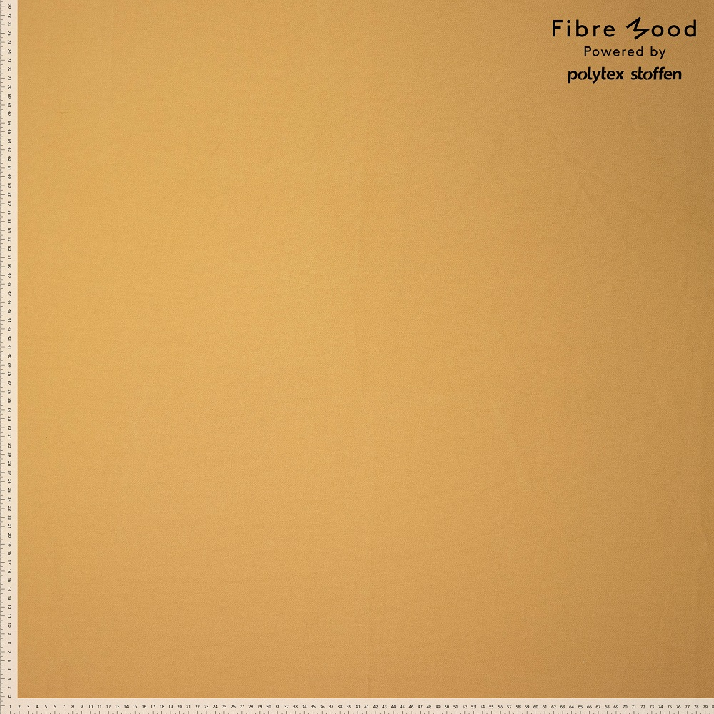Fibre Mood #Noelle, Jeansstoff, zitronengelb. Art. FM997474