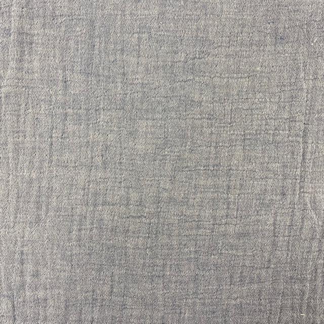 Baumwoll Musselin Double Gauze, hellblau meliert. Art. SW11808