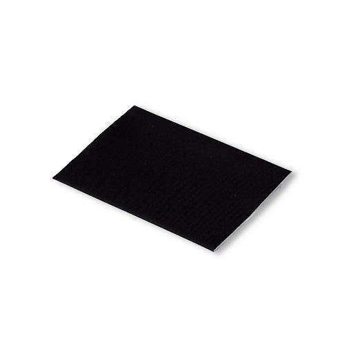 Klebeflicken Nylon, 10 x 18cm, schwarz. Art. 929500