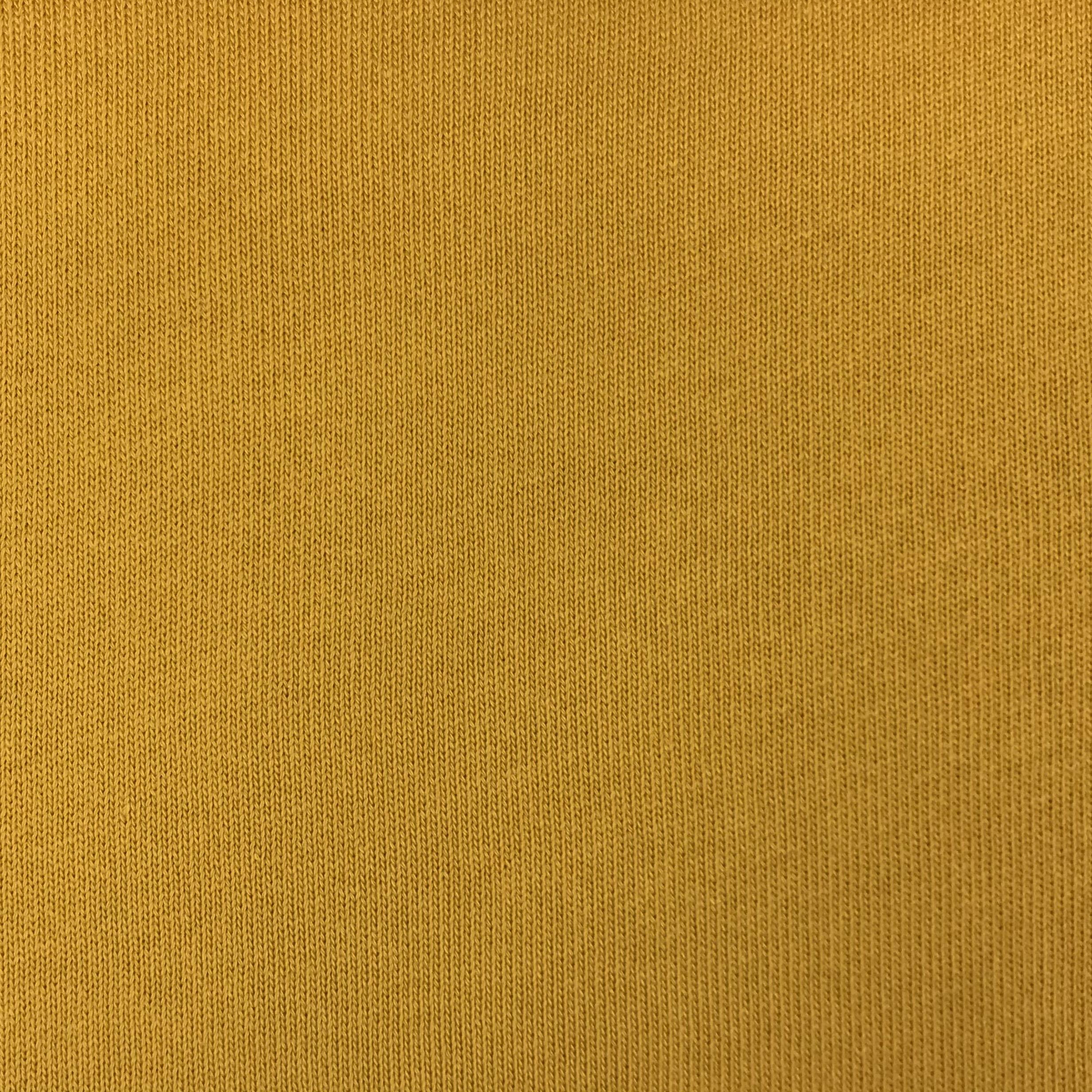 Feiner Strickstoff, Baumwolle hellsenf.  Art. 4199-1034