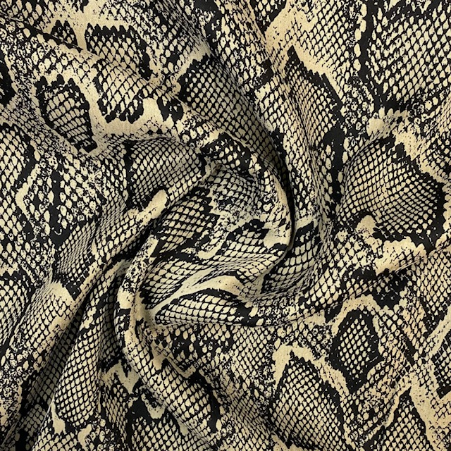 Viskose-Satin, Animal.  Art. Q11402-009
