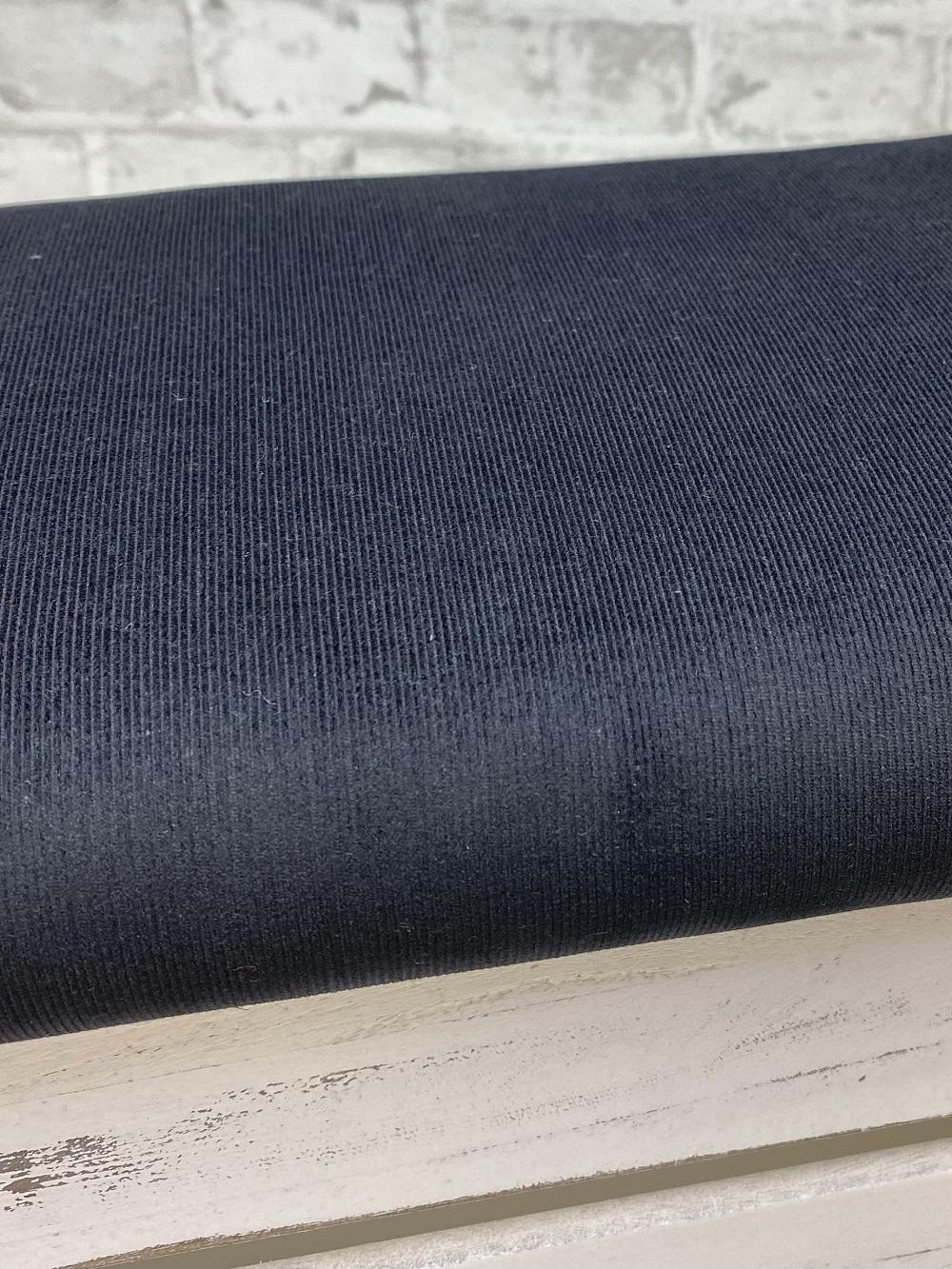Feincord gewaschen, schwarz. Art. 4809/69