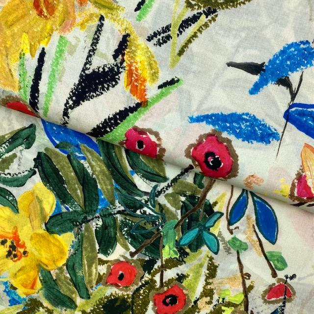 Bio-Voile Baumwollstoff von C. Pauli. Art. SW11462