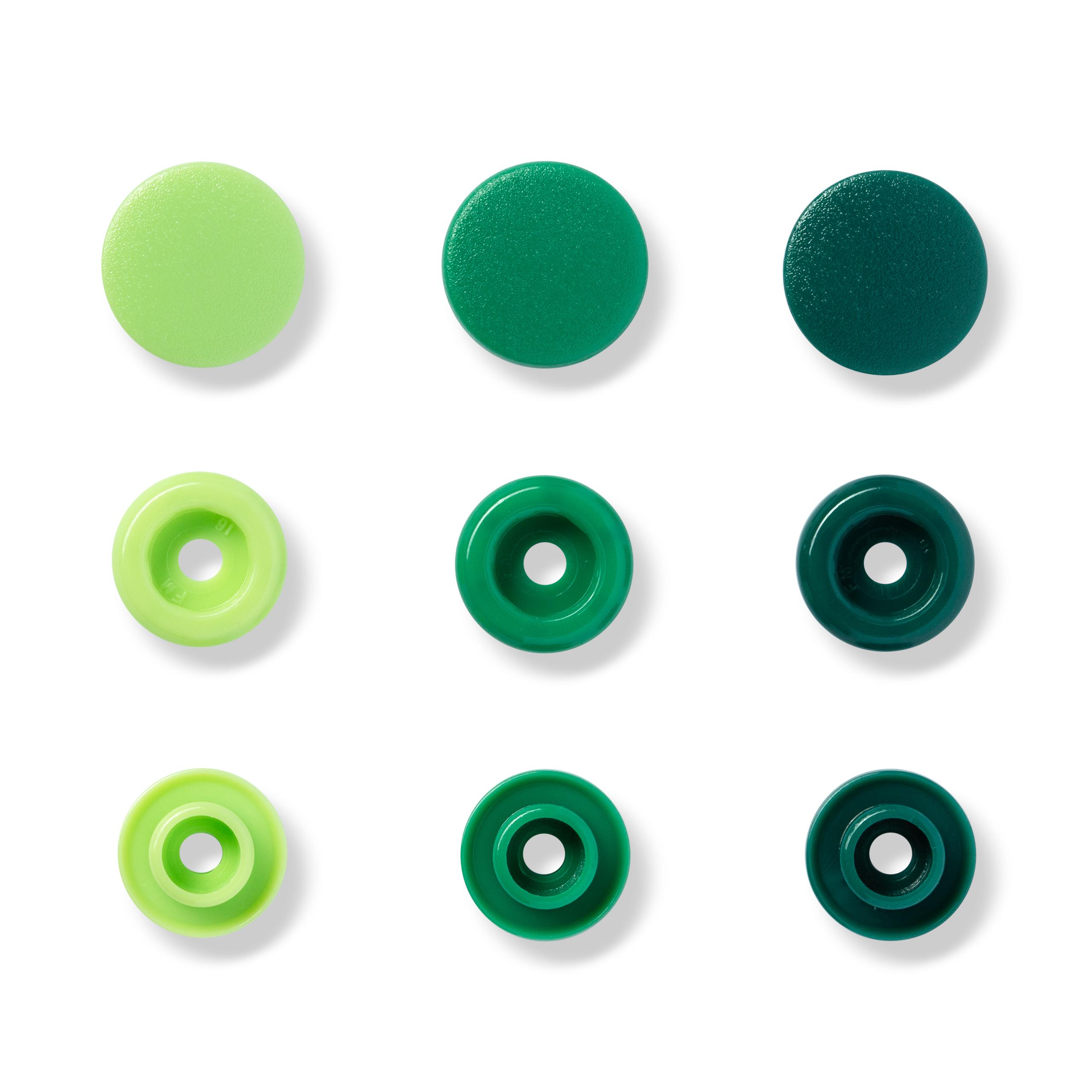 "Druckknopf Color Snaps, grün, ""Prym-Love"", Prym - Art. 393001"