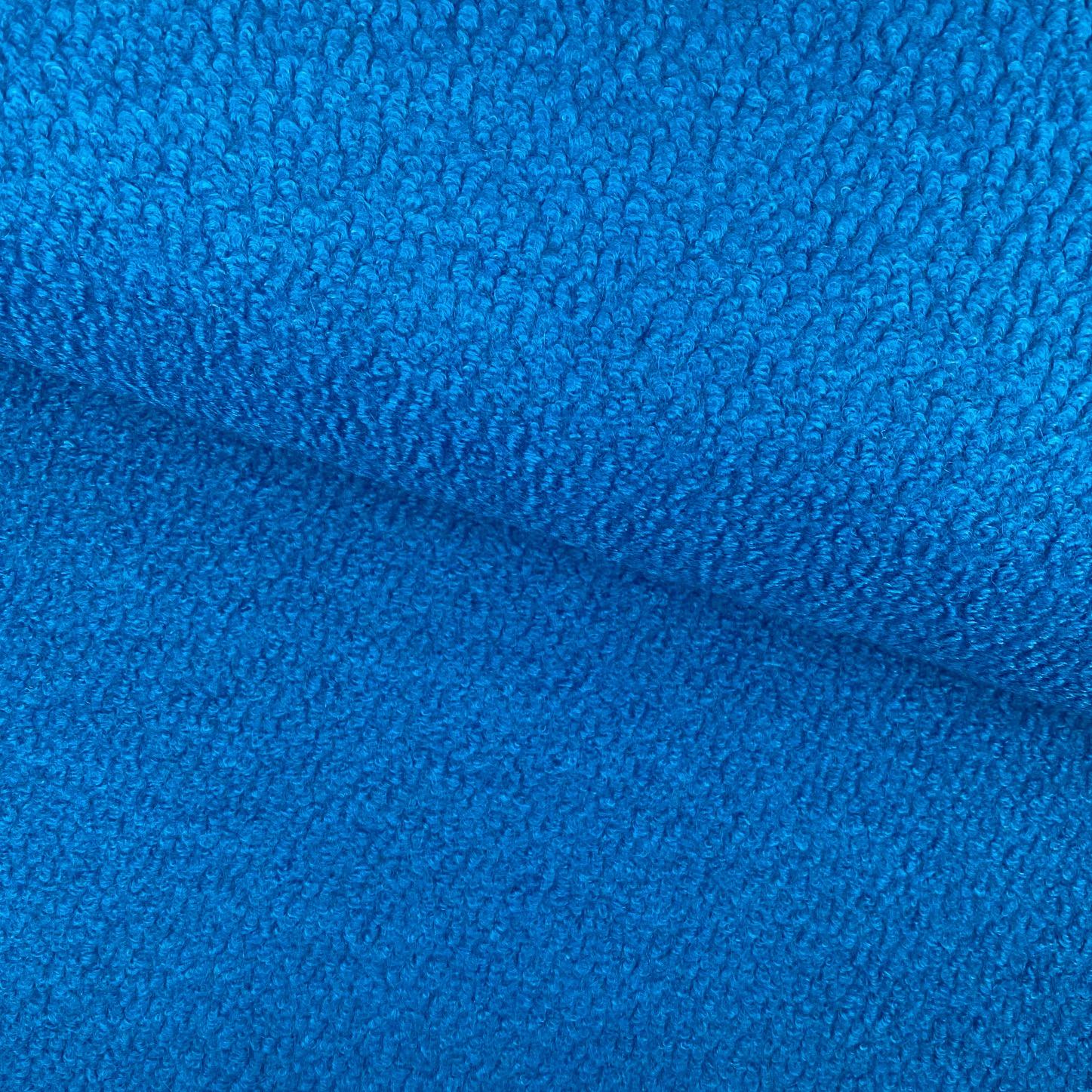 Strick-Bouclé Wollmix, tintenblau. Art. SW11318