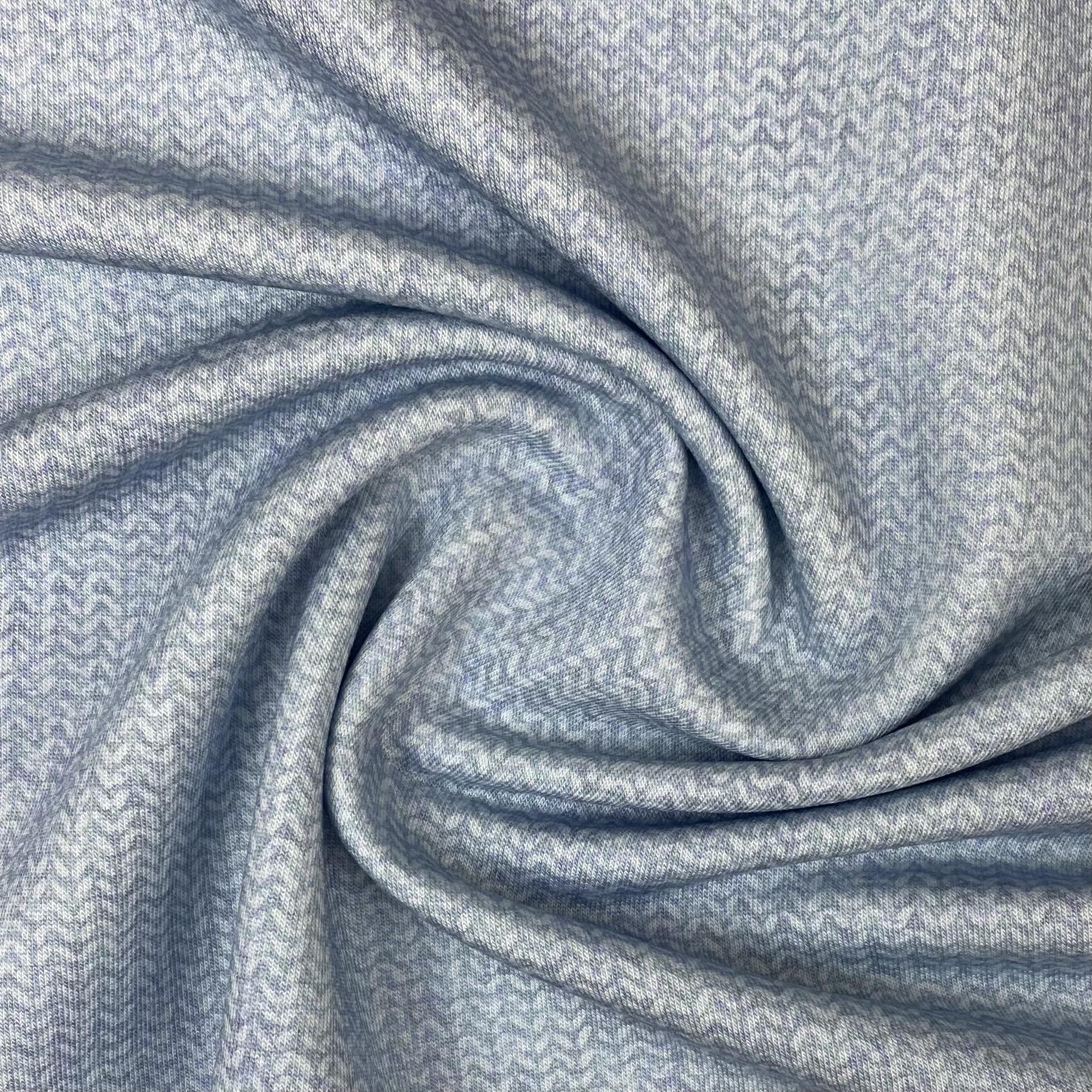 Modalsweat von Lillestoff, grau/blau. Art. 14740