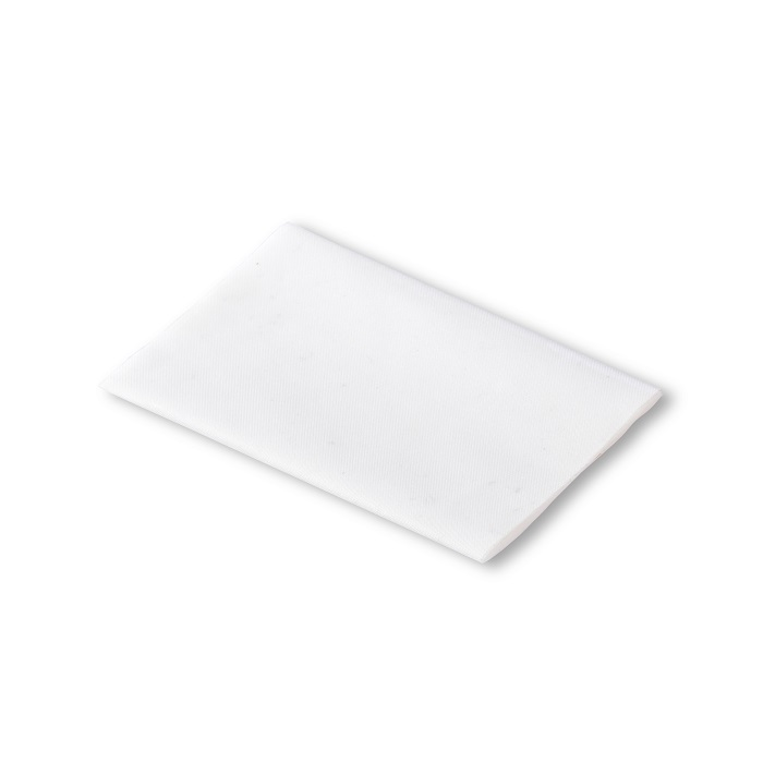 Klebeflicken Nylon, 10 x 18cm, weiß. Art. 929507