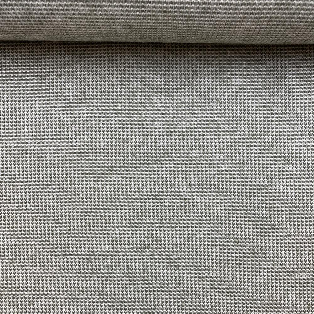Strick Jacquard aus recycelter Baumwolle, army. Art. 08138.006