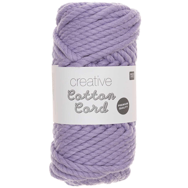 CREATIVE COTTON CORD 130G 25M, lila