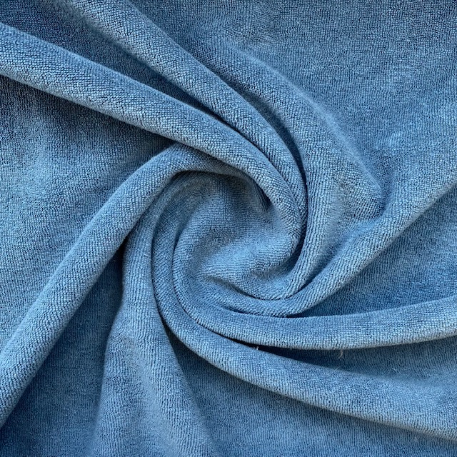 Frottee-Stretch, blue. Art. 02551.022