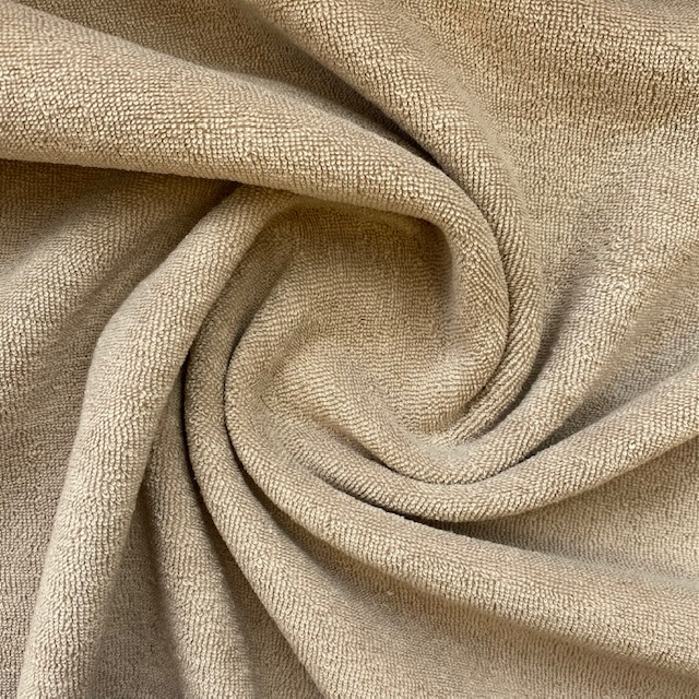 Frottee-Stretch, taupe. Art. 02551.023