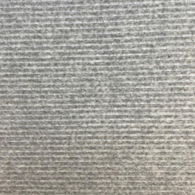 Jersey Breitcord, hell grau meliert. Art. KC8316-065