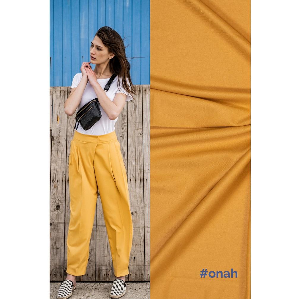 Fibre Mood #Onah, Anzugstoff, ocker. Art. FM777001