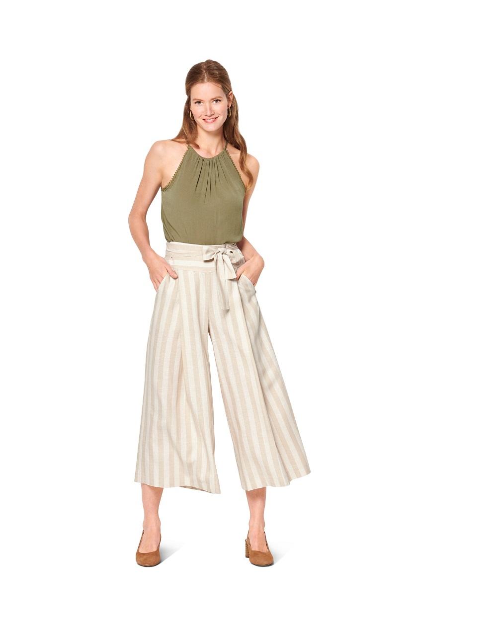 Culotte und Short. Burda #6138