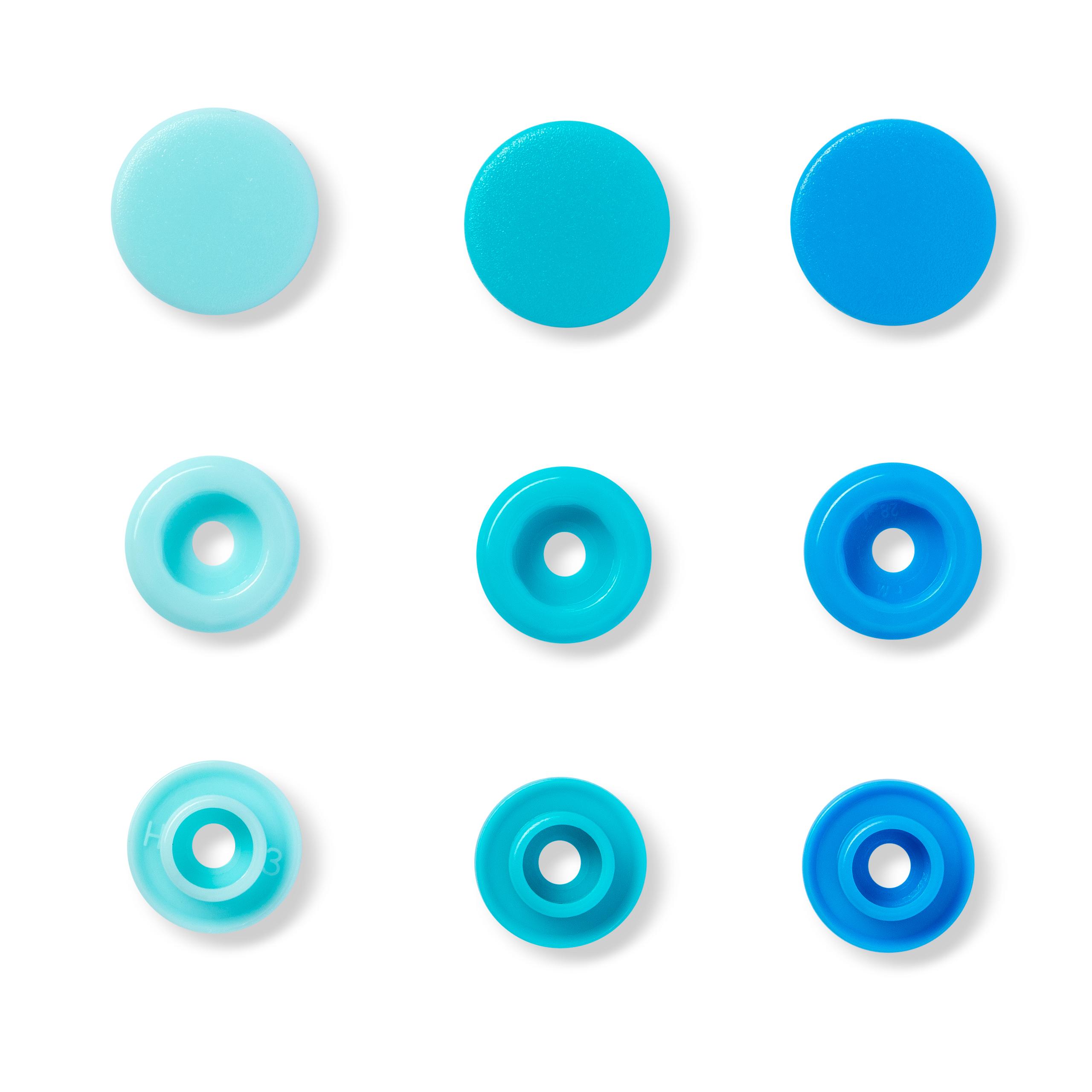 "Druckknopfe Color Snaps, blau, ""Prym-Love"", Prym - Art. 393000"