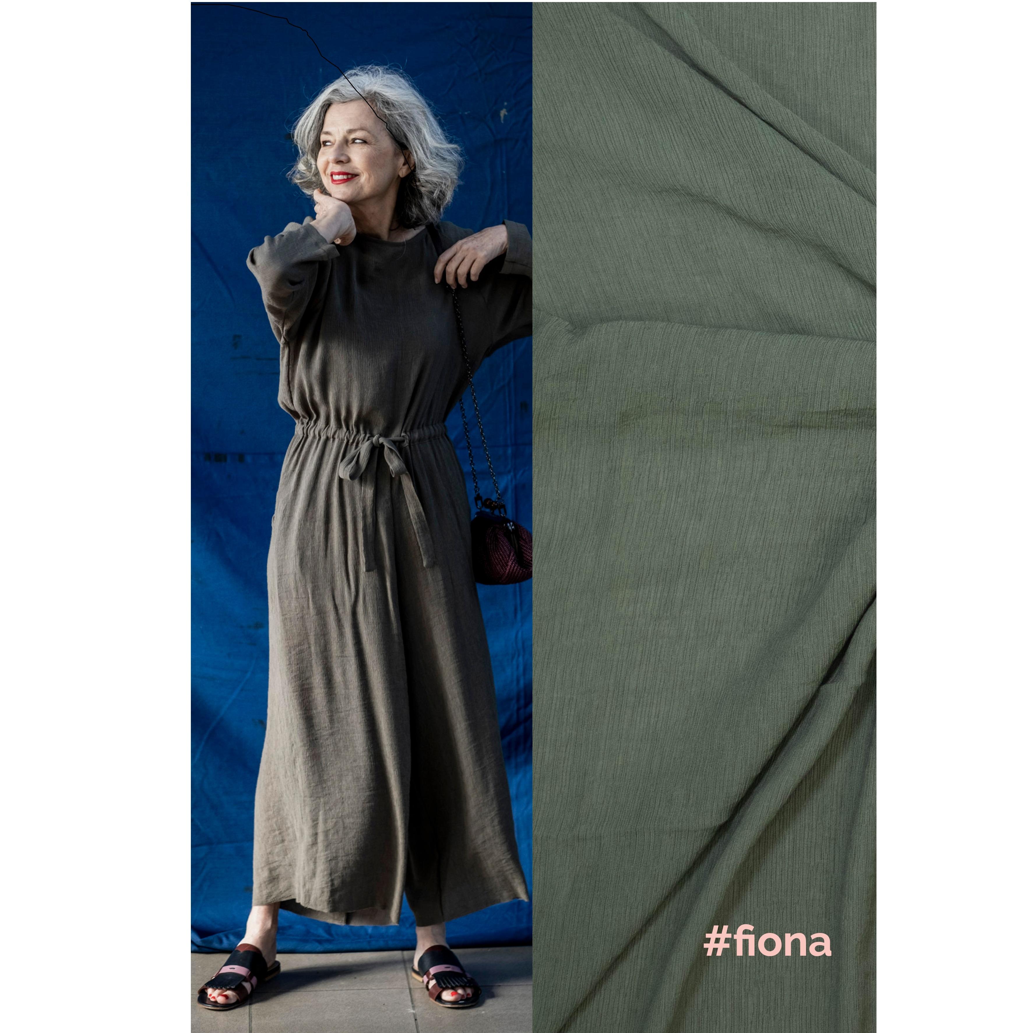 Fibre Mood #Fiona, Viskose, dunkelgrün. Art. FM320049