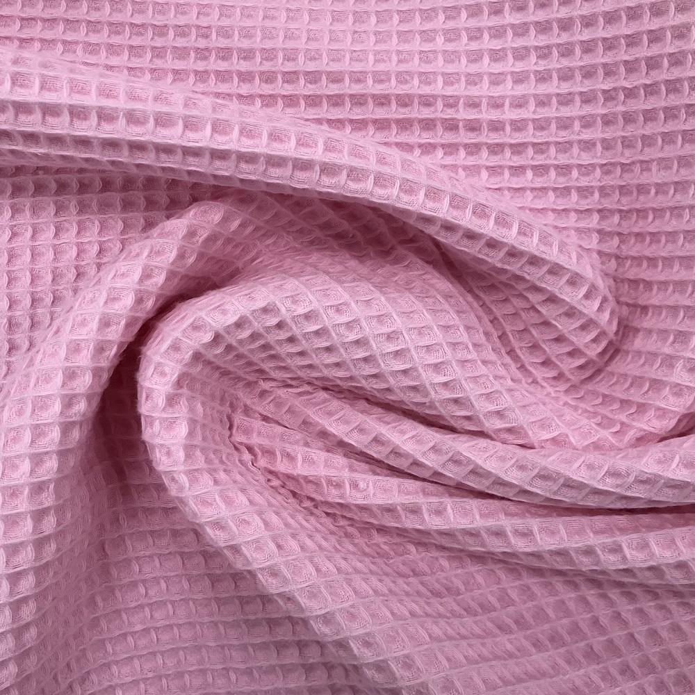 Baumwolle Waffelpiqué, rosa. Art. 9385/11