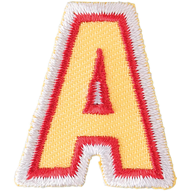 Patch Buchstabe zum aufbügeln, 3,2 cm, A. Art. 7094.56.01