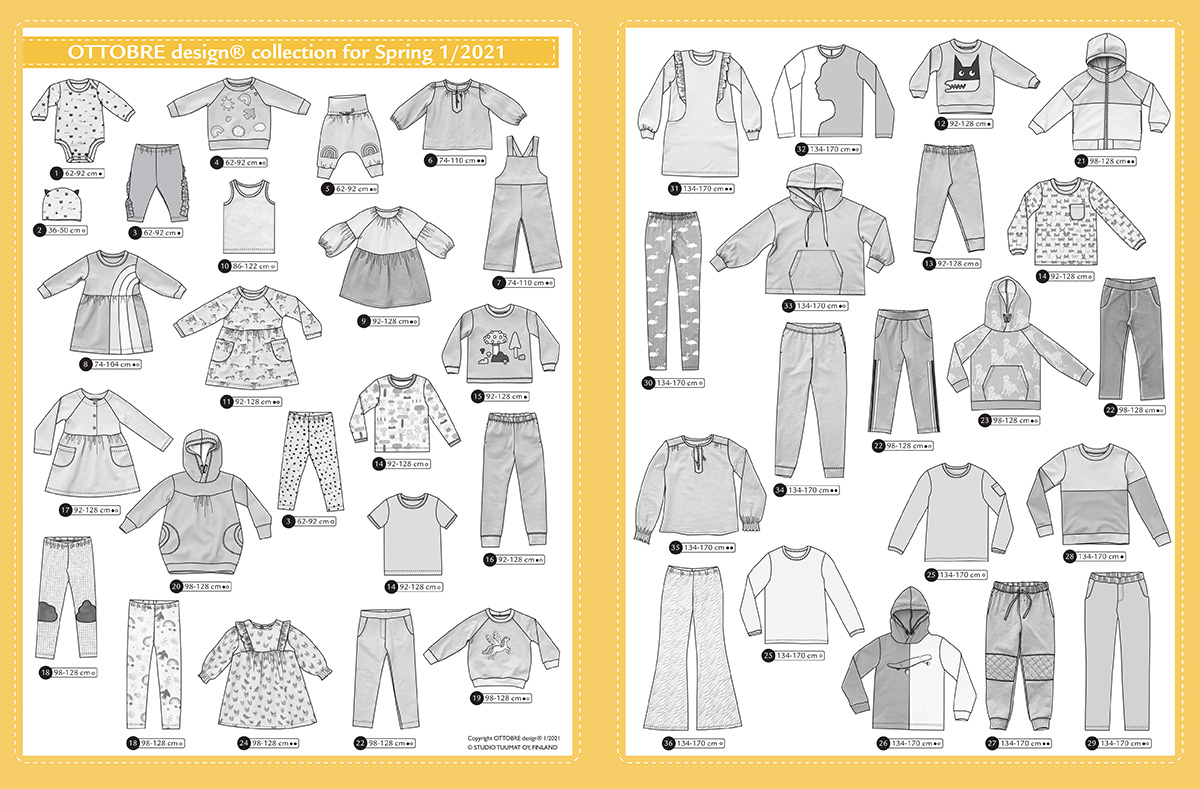 Ottobre design KIDS 01/2021