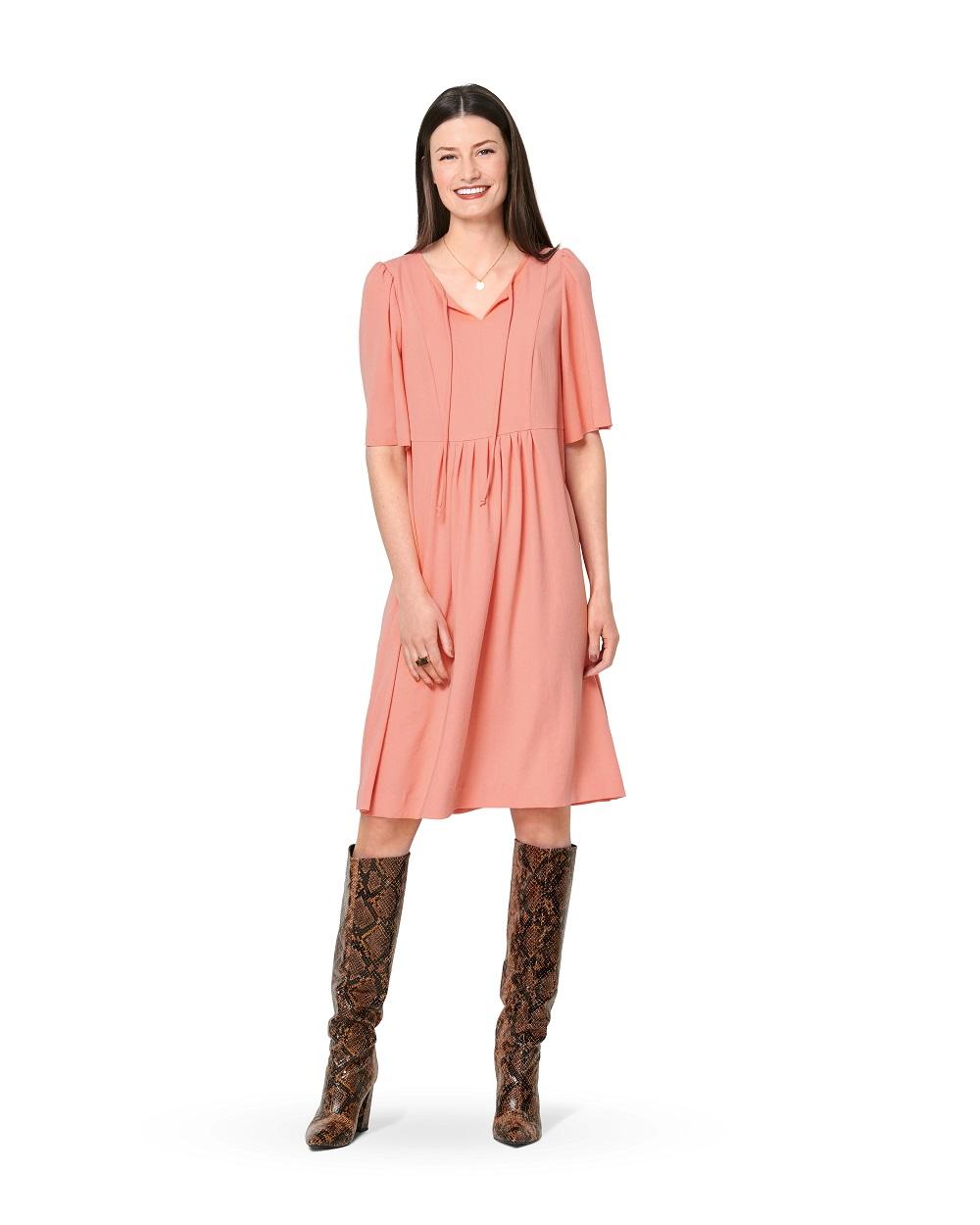 Knielanges Kleid und Tunika #6129