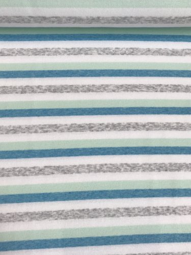Rippenjersey, Streifen Digital, Design-Linie. Art. J-1278-334
