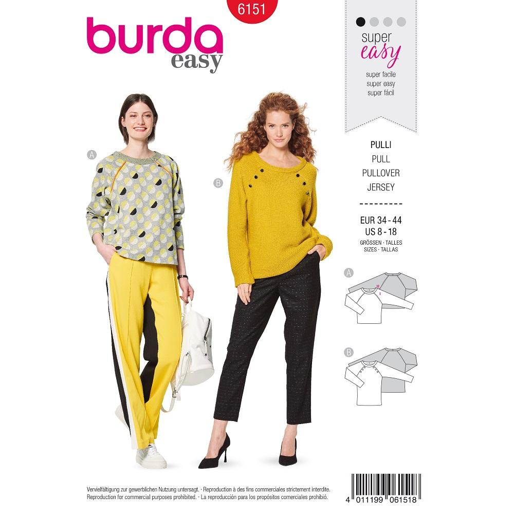 Pullover in verschiedenen Längen #6151