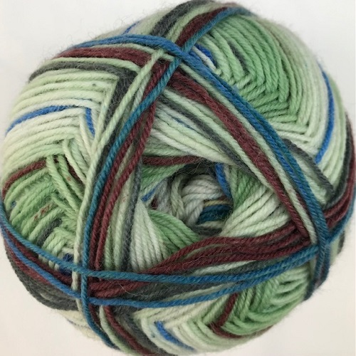 Lang Yarns Twin Soxx, Style of Africa. Art. 909.0303
