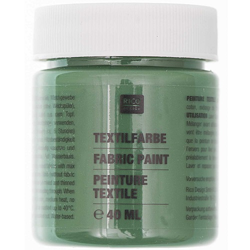 Textilfarbe, olivgrün, 40 ml, Rico Design. Art. 7014.517