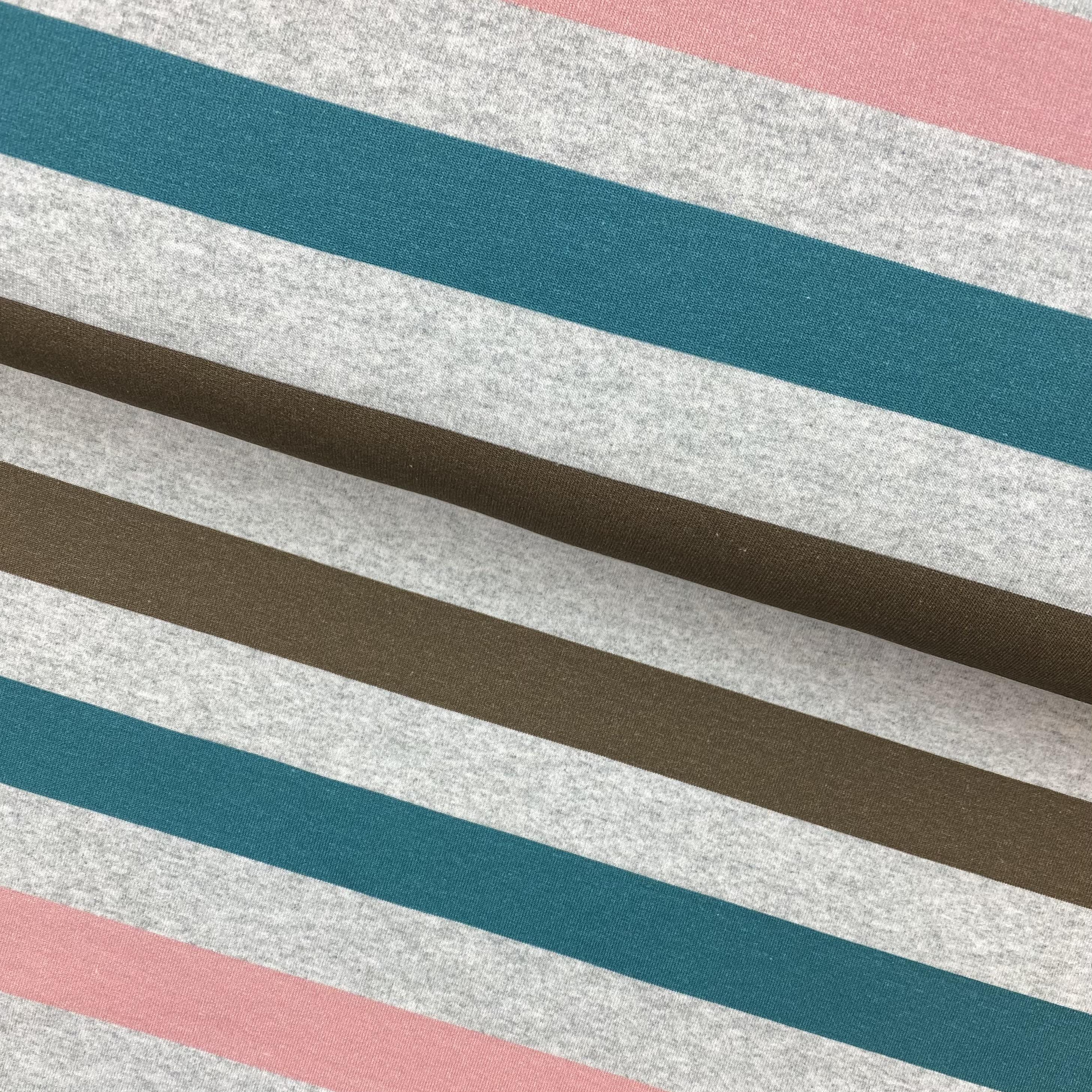 French Terry, Streifen von FVJ. Art. SW10082