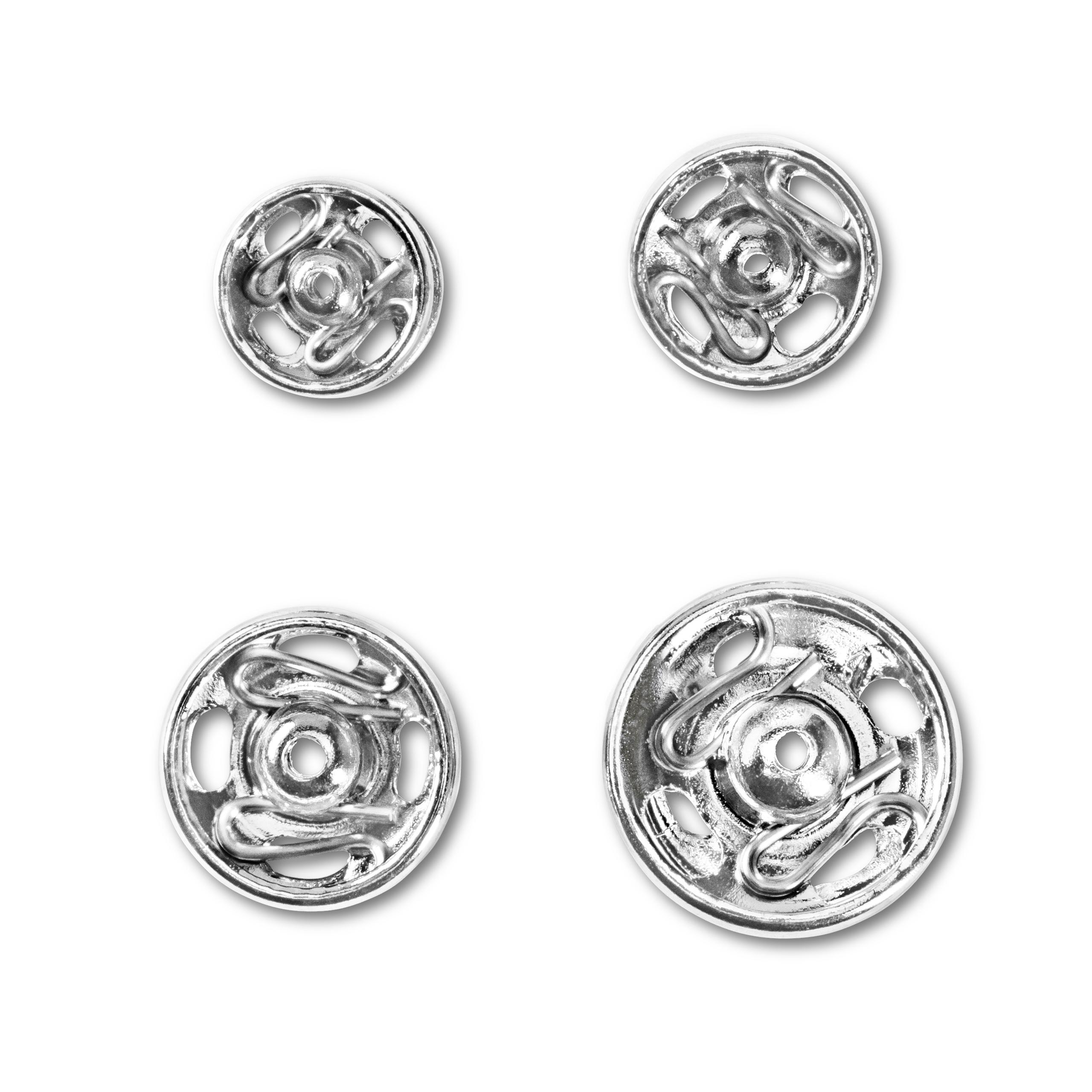 Druckknöpfe 20 Stück, 6 - 11 mm, Prym - Art. 341270