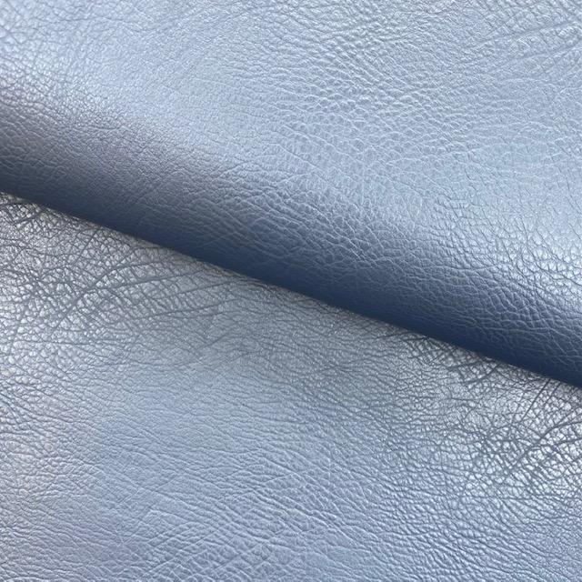 Lederimitat, Vintage, jeansblau. Art. 1012-006